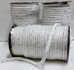 AE00189 Piping Cord: Cotton - White - 80m x 4mm